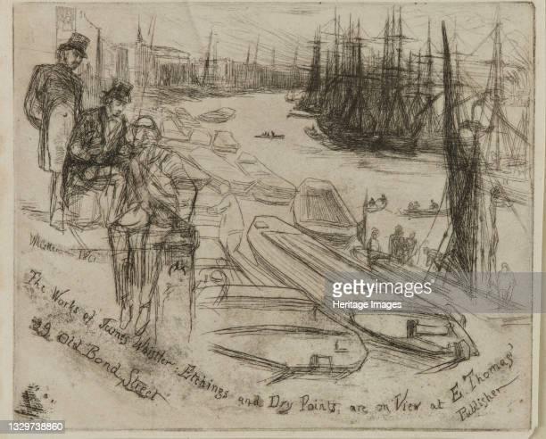 The Little Pool, 1861. Artist James Abbott McNeill Whistler.