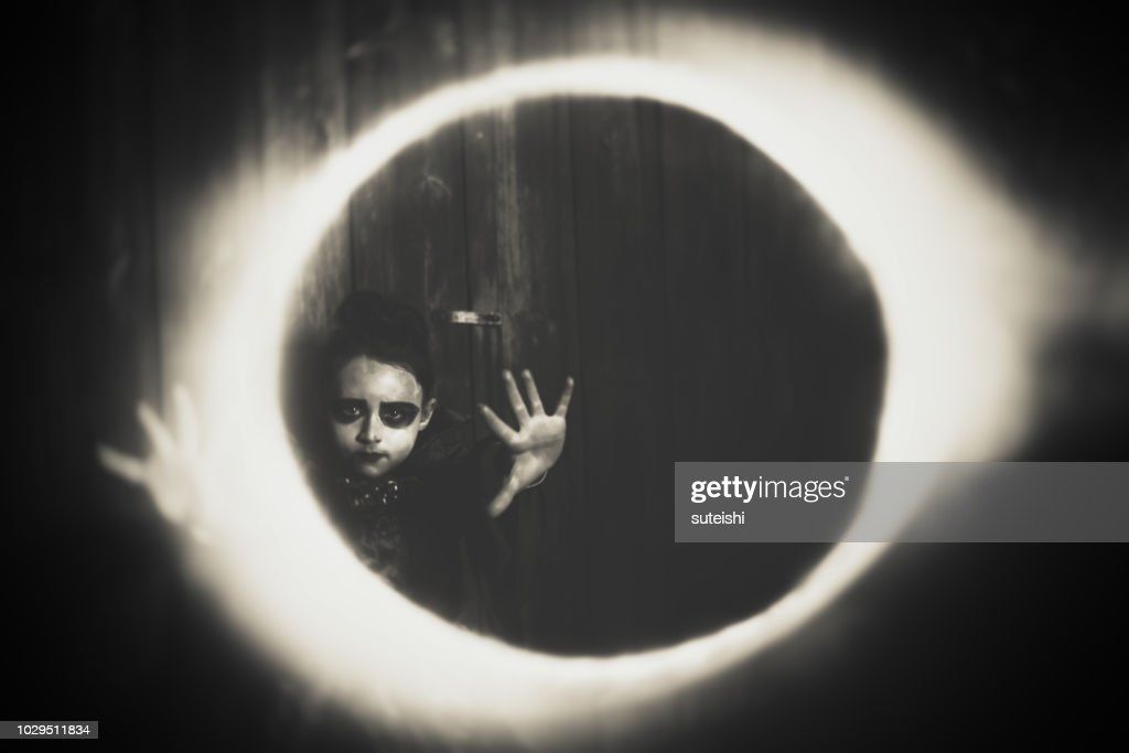 The little princess of the night : Stock Photo