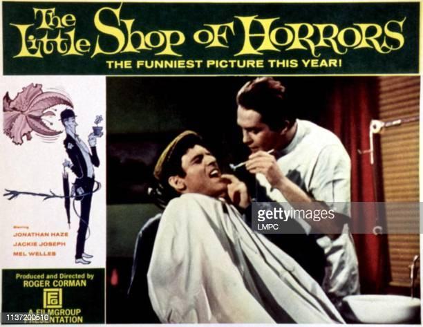 The Little Shop Of Horrors lobbycard Jonathan Haze John Shaner 1960