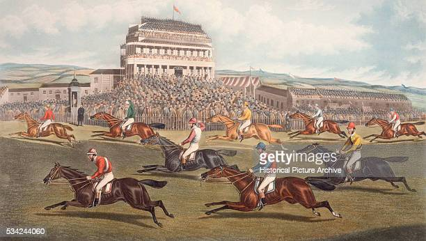 The Liverpool Grand National Steeplechase Print