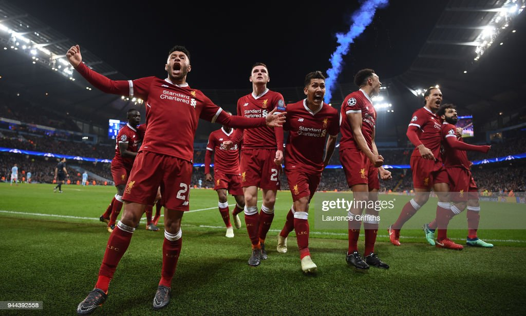 Manchester City v Liverpool - UEFA Champions League Quarter Final Second Leg : ニュース写真