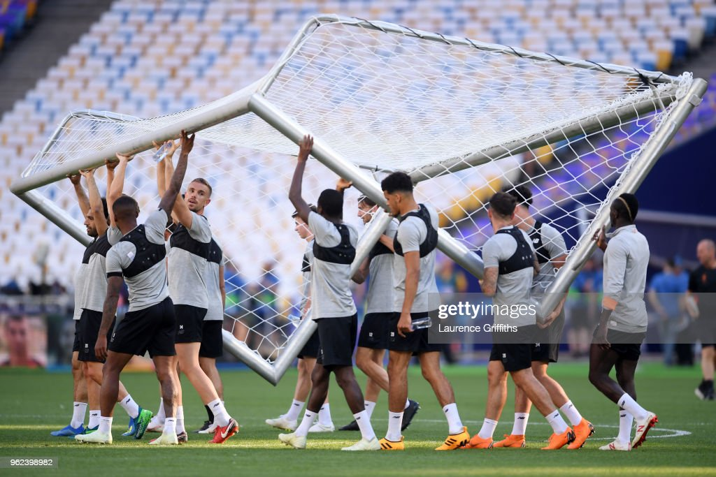 Liverpool Training Session - UEFA Champions League Final Previews : News Photo
