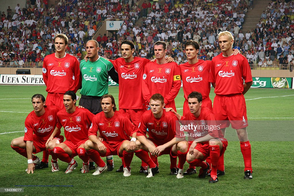 UEFA Super Cup - Liverpool vs CSKA Moscow - August 25, 2005 : News Photo