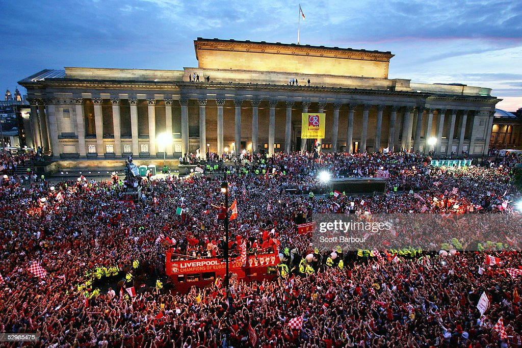 Liverpool Celebrate Champions League Victory With Parade : News Photo