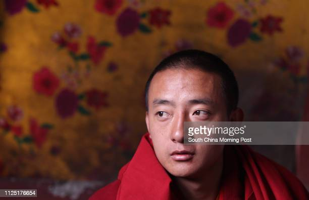 The living buddha Angwen Danbarenqing of Jyegu Monastery in Jiegu, Yushu, Qinghai, April 11, 2011. A devastating 7.1-magnitude earthquake hit Yushu,...