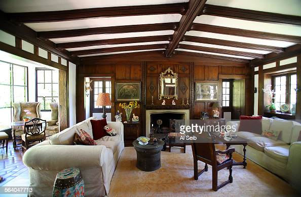 Montecito ca the living room of actor tab hunter 39 s house - The home hunter ...