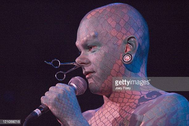 The Lizardman during The Jagermeister Music Tour at The Vogue Theatre November 02 2006 at The Vogue Theatre in Indianapolis United States