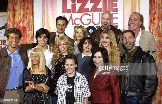 The Lizzie McGuire Movie cast with Producer Stan Rogow and Jim Fall Director