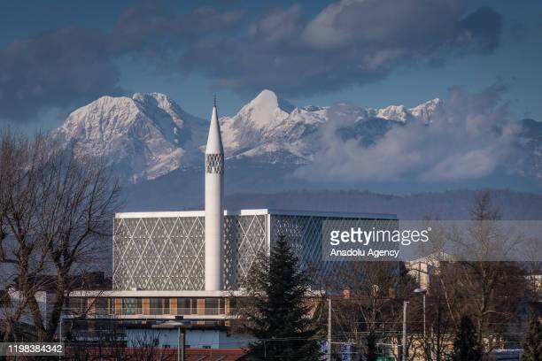 The Ljubljana Mosque and Islamic Cultural Center foundation laid on 2013 which is the only minaret mosque will be opened for worship in June in...