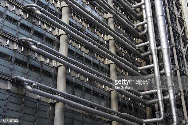 The Lloyd's Building offices of Lloyds of London insurance in the City London England United Kingdom
