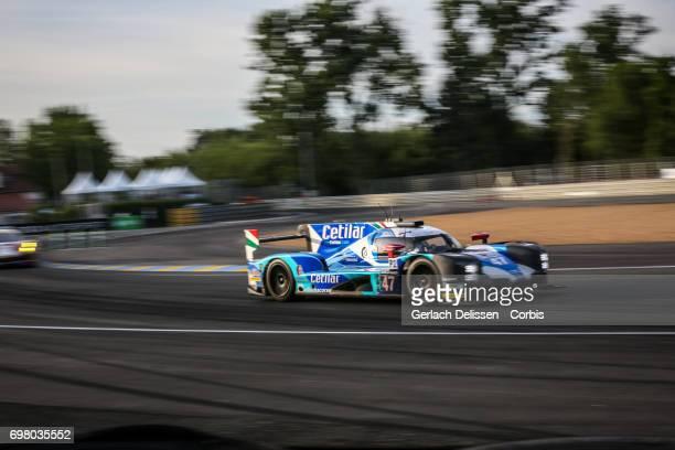 The LMP2 Cetilar Villorba Corse Dallara P217Gibson with drivers Roberto Lacorte /Giorgio Sernagiotto /Andrea Belicchi in action during the...