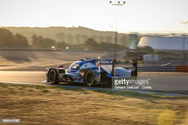 The LMP2 Cetilar Villorba Corse Dallara P217Gibson with drivers Roberto Lacorte /Giorgio Sernagiotto /Andrea Belicchi in action during the Le Mans 24...