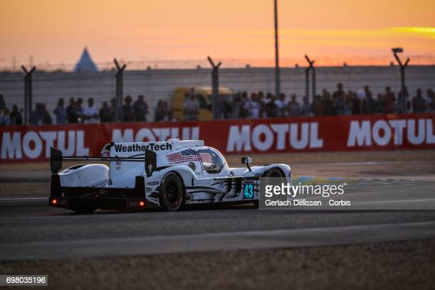 The LMP2 Keating Motorsports Riley MK30Gibson with drivers Ben Keating /Jeroen Bleekemolen /Ricky Taylor in action during the qualification for the...