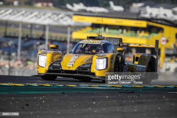 The LMP2 Racing Team Nederland Dallara P217Gibson with drivers Jan Lammers /Frits Van Eerd /Rubens Barrichello in action during the Le Mans 24 Hours...
