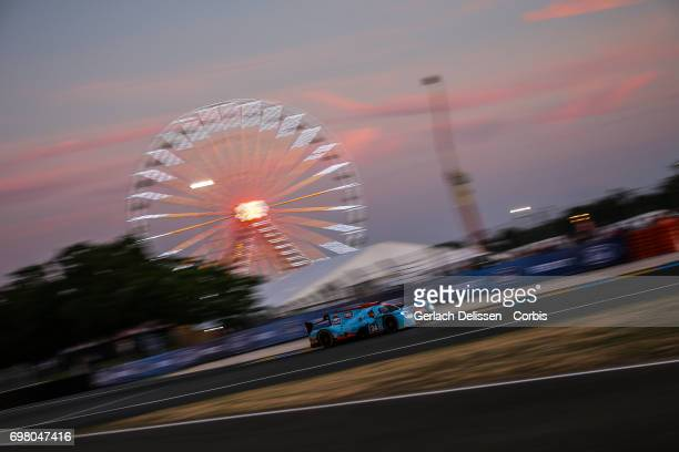 The LMP2 Tockwith Motorsports Ligier JSP217Gibson with drivers Nigel Moore /Phil Hanson /Karun Chandhok in action during the qualification for the Le...
