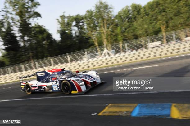 The LMP2 United Autosports Ligier JSP217Gibson with drivers William Owen /Hugo de Sadeleer /Filipe Albuquerque in action during the qualification for...