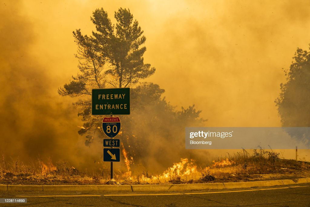 More Than 360 Fires Burn In California With Heat Holding On : News Photo