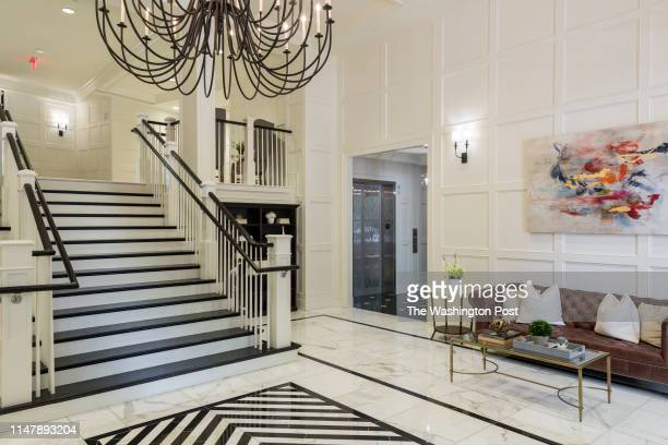 the Lobby at The Signet on May 28 2019 in McLean Virginia