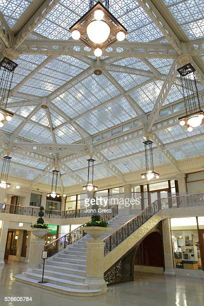 The lobby of the Rookery is seen in Chicago, September 22, 2011.