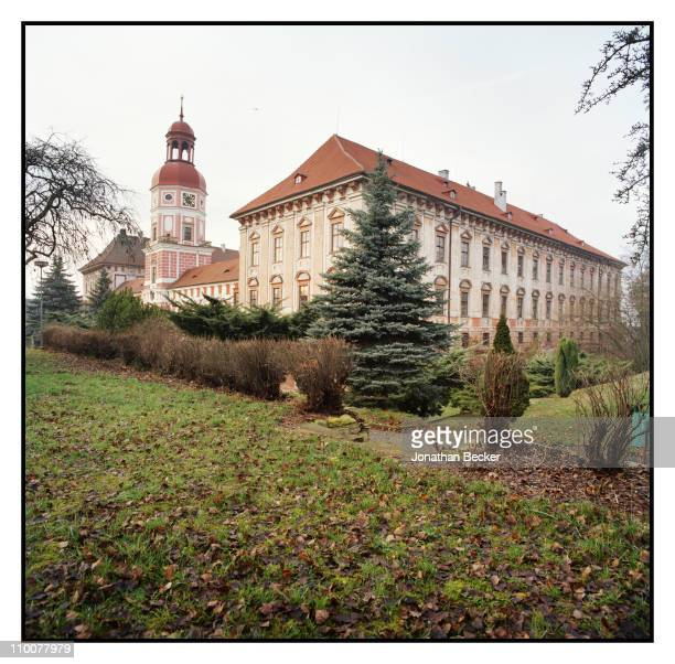 The Lobkowicz Family Roudnice Castle is photographed for Vanity Fair Magazine on December 17 2009 in Czech Republic Published image