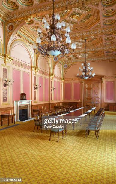 The Locarno Suite inside the Foreign and Commonwealth Office on July 13,2013 in London,England.