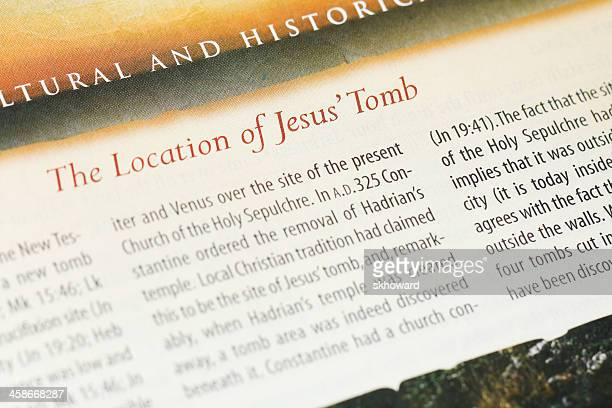 the location of jesus' tomb - jesus empty tomb stock pictures, royalty-free photos & images
