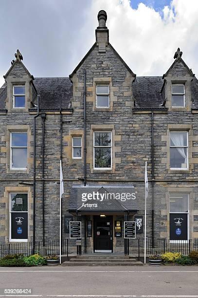 The Loch Ness Exhibition Centre at Drumnadrochit, Scotland, UK.