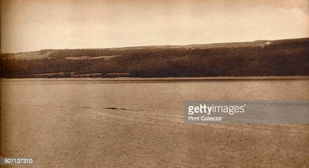 The Loch Ness Monster' A photograph purporting to show the Loch Ness Monster From These Tremendous Years 19191938 [Daily Express London 1938] Artist...