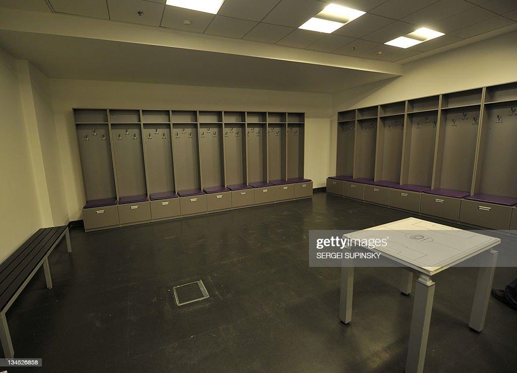 Euro locker room