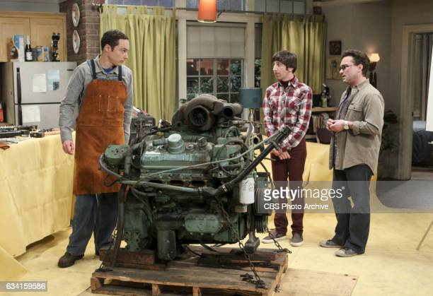 The Locomotion Reverberation Pictured Sheldon Cooper Howard Wolowitz and Leonard Hofstadter Leonard and Wolowitz try to distract Sheldon when he...