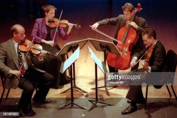 The Locrian Chamber Players performing the music of Julian Anderson and Thomas Ades at Miller Theater on Saturday night October 2 1999This imageFrom...