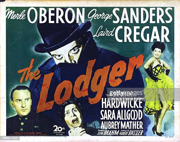 """The Lodger"" starring Merle Oberon a 1944 horror film about Jack the Ripper."