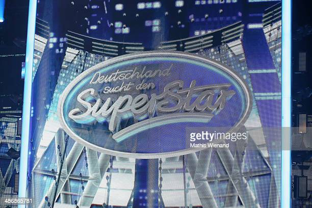 The Logo during the rehearsal for the 5th 'Deutschland sucht den Superstar' show at Coloneum on April 26 2014 in Cologne Germany