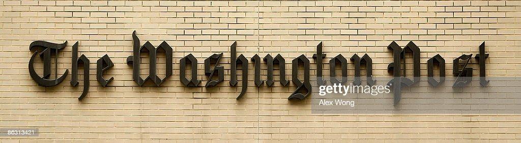 Washington Post Announces First Quarter Profits : News Photo
