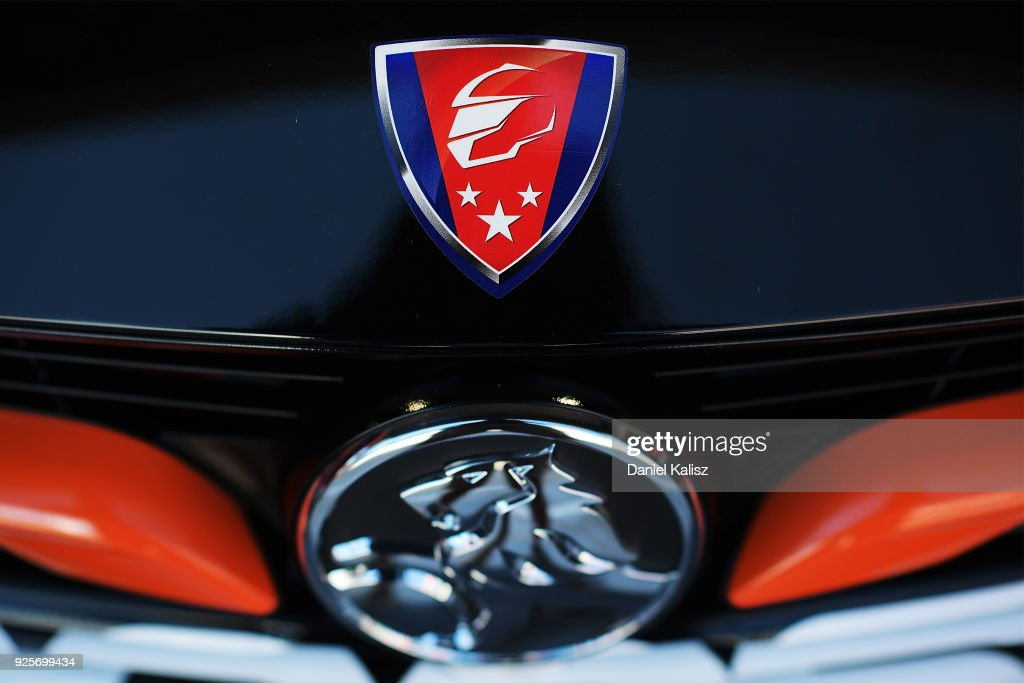 The logo for Walkinshaw Andretti United is pictured ahead of