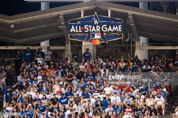 The logo of 2020 Major League Baseball All-Star Game was revealed on July 23, 2019 at Dodger Stadium in Los Angeles, CA.