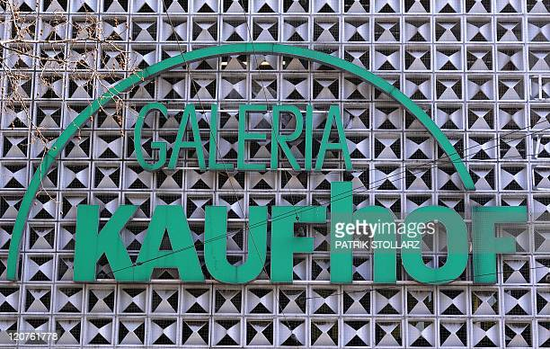 The logo of a Galeria Kaufhof store a retail chain of German retail giant Metro Group can be seen on March 22 2011 in Duesseldorf western Germany AFP...
