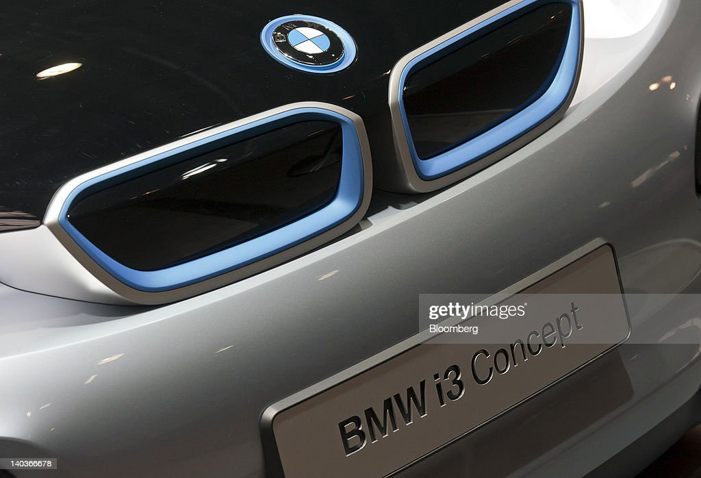 Production Event For BMW AG's New CFK Automobile : News Photo