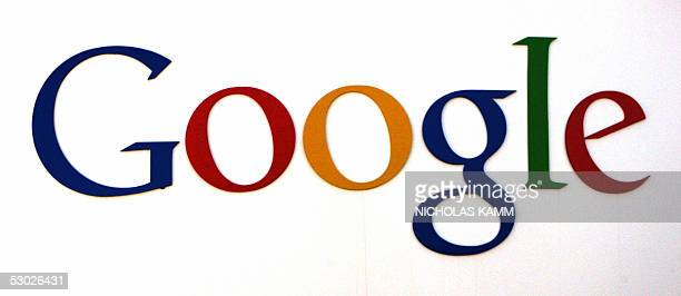 The logo of internet search engine company Google at the headquarters in Mountain View in Silicon Valley south of San Francisco 05 June 2005 AFP...