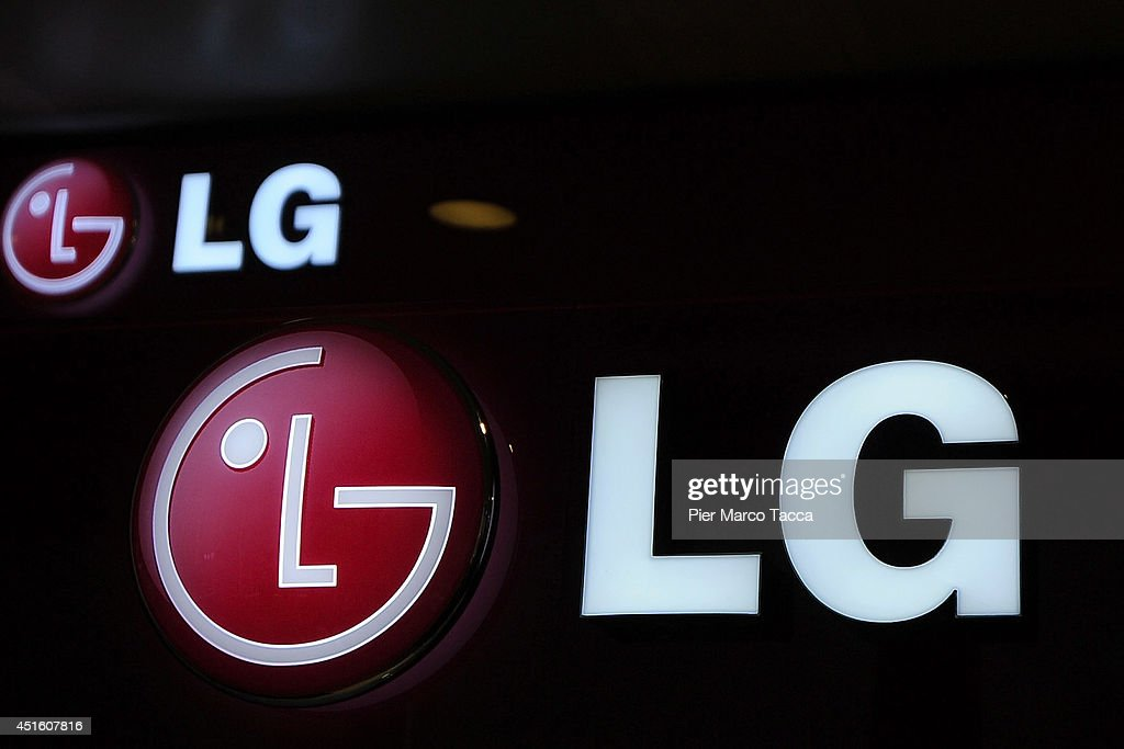 South Korean Electronics Company LG's Press Conference On New Products And Market Strategies : News Photo