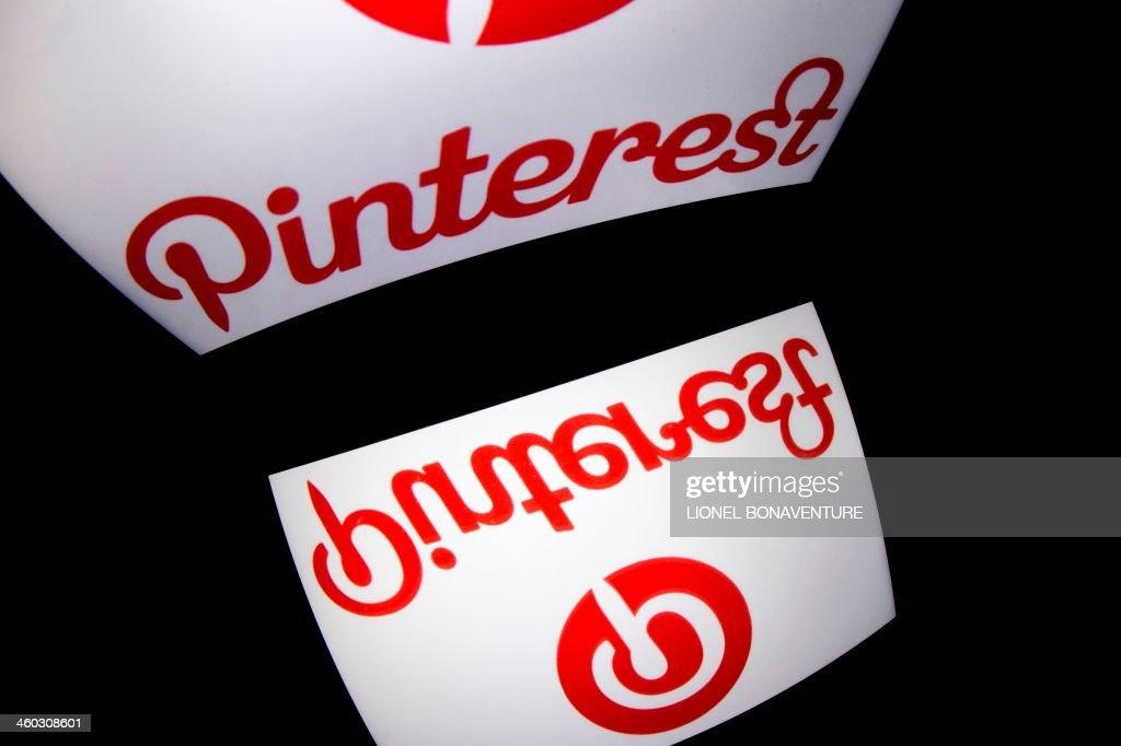 FRANCE-INTERNET-PINTEREST : News Photo