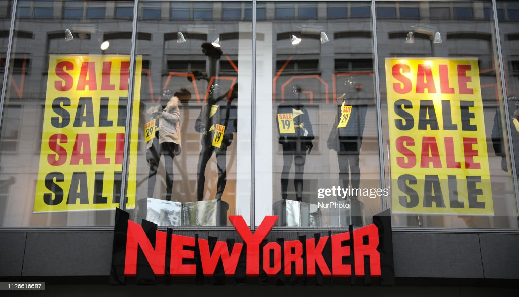 The logo of New Yorker store is seen in Stuttgart, Germany News