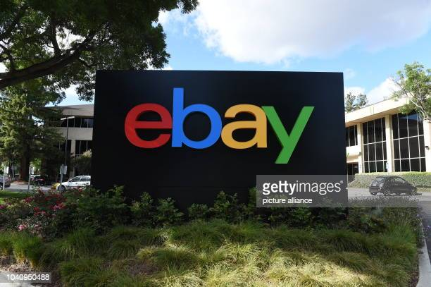 The logo of online auction platform Ebay in front of the Intel headquarters in San José, US, 21 May 2016. PHOTO: ANDREJ SOKOLOW/dpa | usage worldwide