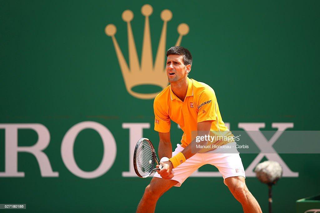 Tennis - ATP Monte Carlo Rolex Masters 2015 - Rolex : News Photo