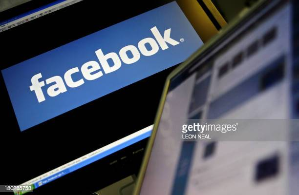 The logo of social networking website 'Facebook' is displayed on a computer screen in London 12 December 2007 AFP PHOTO/LEON NEAL