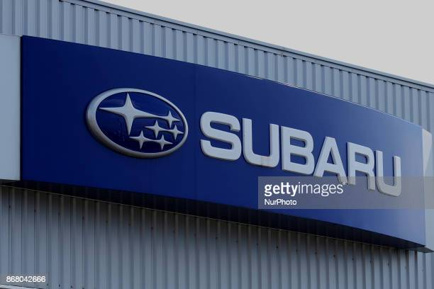 The logo of Subaru Corp is pictured at showroom in Tokyo Japan October 30 2017 Subaru is latest big Japanese company to admit mistake Company recalls...
