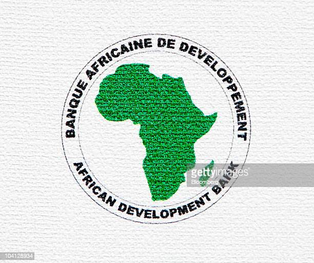 The logo of the African Development Bank is displayed during the 21st World Energy Congress in Montreal Quebec Canada on Wednesday Sept 15 2010 The...