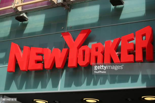 The logo of the German clothing retailer NewYorker headquartered in Braunschweig that primarily addresses the target group of 12 to 39yearolds is...
