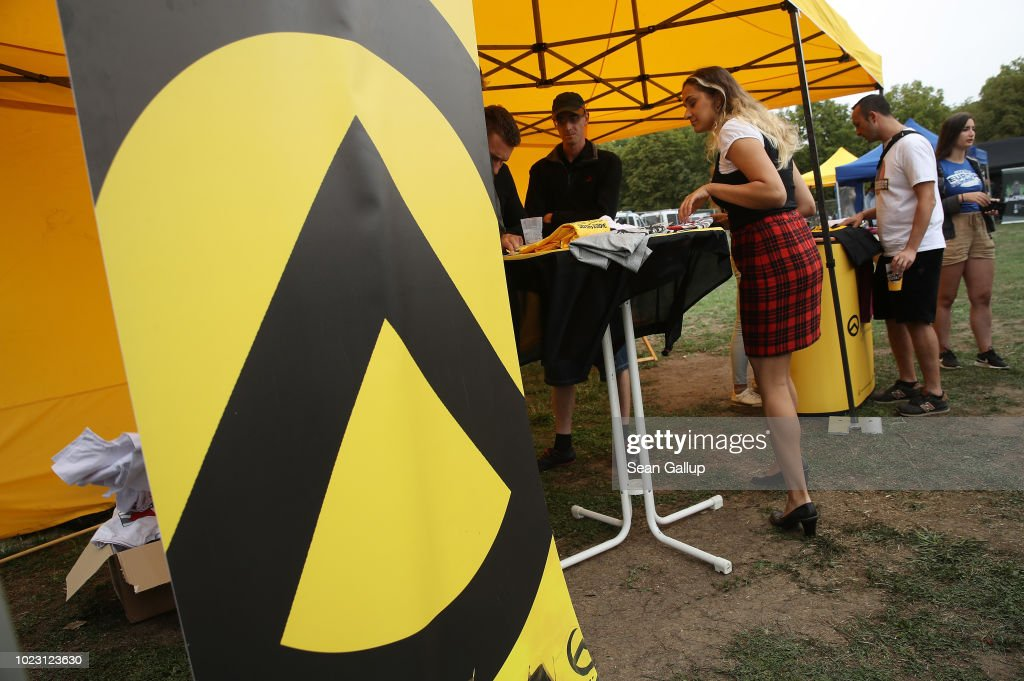 "Identitarian Movement Holds ""Europa Nostra"" Gathering : News Photo"