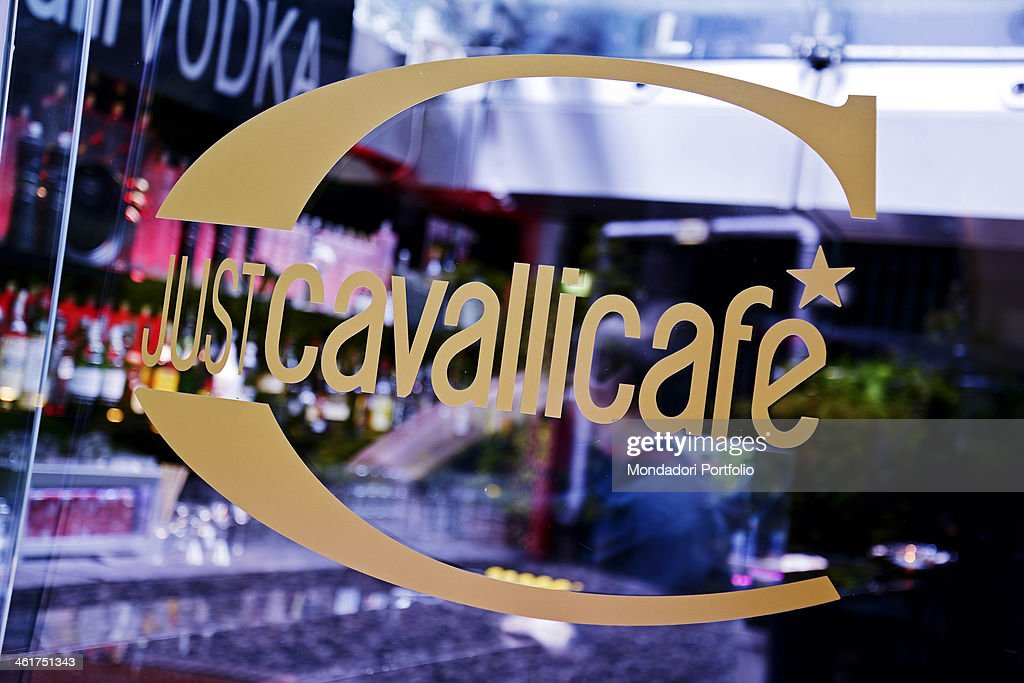 newest 50577 8f250 The logo of the Just Cavalli club, at the foot of the Torre ...